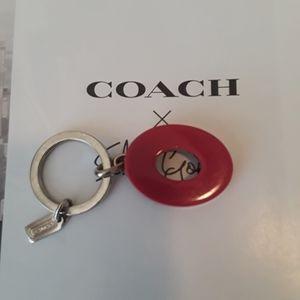 Coach keychain ...Purse charm